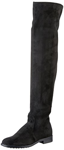Esprit Women's 100% Women's Black Stretch Over-The-Knee Boots 100% Women's Polyester B06XWKRR9F Shoes c93508