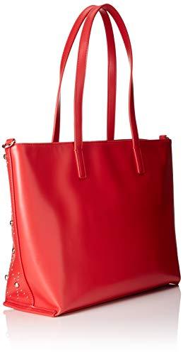 De Bolsos Mujer Y magenta Shoppers Ee1vsbbe2 Rojo Hombro Jeans Versace qw1SFn