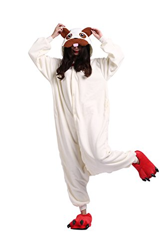 (DarkCom Men Women Animal Pajamas Sleepwear Cosplay Costume Halloween Xmas Gift)