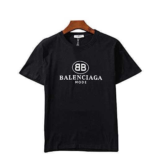 有毒見出し摂氏度GATA Tシャツ 運動 BB Logo トップス 半袖 コットン アウトドア 男女兼用おしゃ (M)