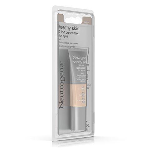 Neutrogena Healthy Skin 3-In-1 Concealer For Eyes Broad Spectrum Spf 20, Fair 05, .37 Oz.