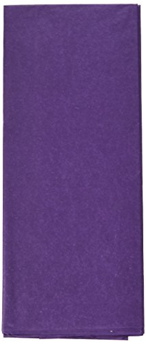 Cindus Tissue Wrap, 20 by 20-Inch, Purple (Purple Paper Gift)