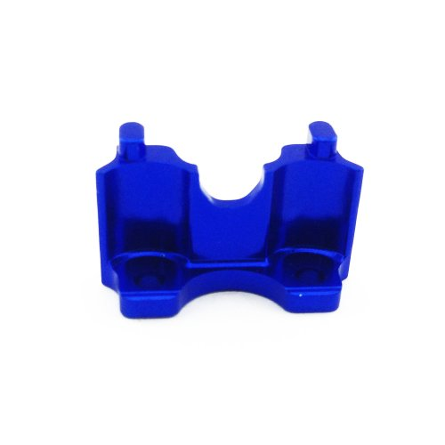 Traxxas Summit 1:16 Aluminum Alloy Rear Shock Mount Hop Up Upgrade, Blue by Atomik RC - Replaces Traxxas Part 7043