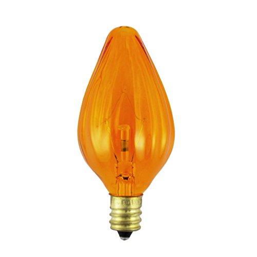 F10 Candelabra Base (15F10-130V-A - Voltage: 130V, Wattage: 15W, Type: F10 Light Bulb, Base Type: E12 (Candelabra Screw Base),)
