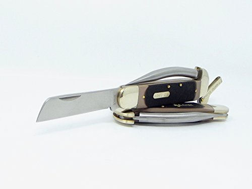 Brand Old Timer Mariner Lever Lock Pocket Knife Clip Point Blade and Marlin Spike For Your Rope Rigging Needs Schrade - Point Spike Clip