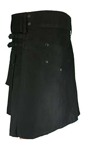Men's Fashion Snap-on Kilt, Deluxe Utility Kilt, Traditional Scottish Dress