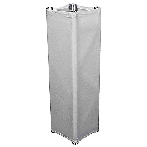 White Fabric Truss Cover/Sock/Scrim Suit Box For F34 Square Truss Cover And For Tripod 4 sides square 1m