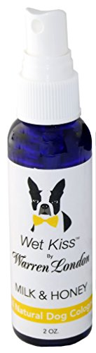 (Warren London Dog Cologne Wet Kiss Fragrance - Milk & Honey - Long Lasting with Natural Ingredients)