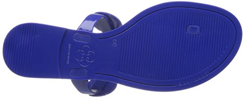 Bernardo Womens Moon You Jelly Sandal Cobalt