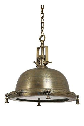 LightMakers 3046218 NORDFYN Hanging Lamp, Raw Antique Bronze