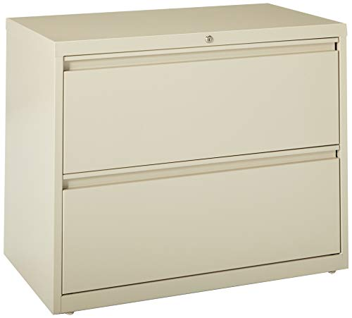 4 Drawer Binder Lateral File - Lorell 2-Drawer Lateral File, 36 by 18-5/8 by 28-1/8-Inch, Putty