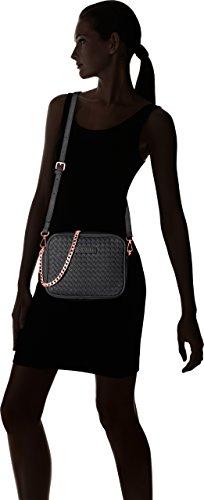 Silvian Heach - Priocca, Bolsos de mano Mujer, Nero, 34x28x14 cm (W x H L)