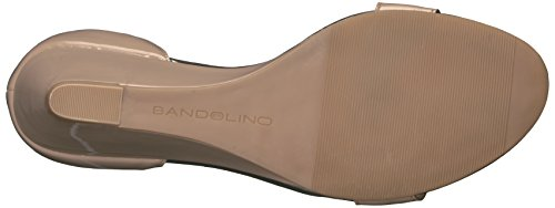 Synthetic Compensées Sandales Femmes Bandolino Opali Natural fXawAnxF4q