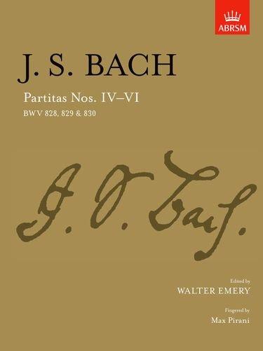 Partitas IV-VI: BWV 828-830 (Signature Series (ABRSM)) (No. 4-6) 829 Series