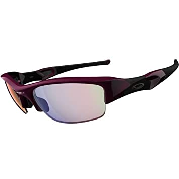 oakley womens sunglasses asian fit  oakley flak jacket women's asian fit sport sportswear sunglasses/eyewear color: damson/