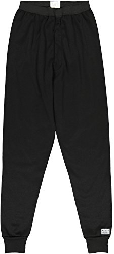 Army Universe Black Cold Weather Thick ECWCS Military Thermal Pants Bottoms Underwear With ArmyUniverse Pin (Waist 52-54) (Ecwcs Underwear Bottoms)