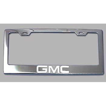 Amazon.com: GMC Chrome License Plate Frame: Automotive