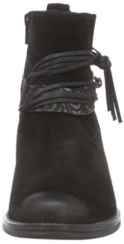 Tamaris 25888 Damen Kurzschaft Stiefel Schwarz (BLACK COMB 098)