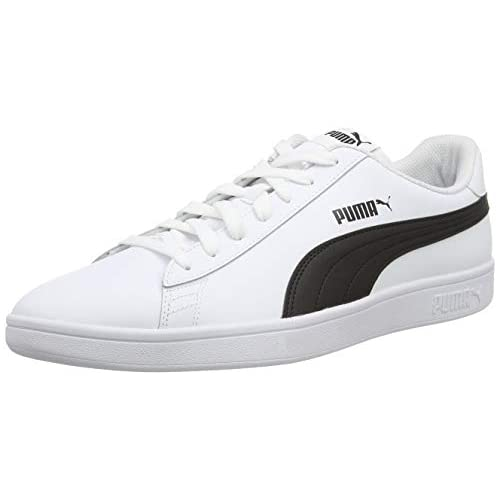 chollos oferta descuentos barato PUMA Smash V2 L Zapatillas Unisex Adulto Blanco White Black 41 EU