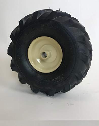 LMTS 11 x 4.00-4 Tractor Tread Tire & Rim - Cub Cadet Tiller Replacement Wheel