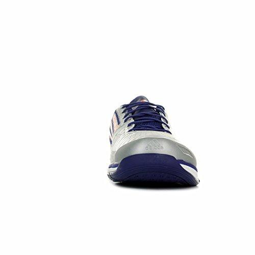 adidas Performance, Scarpe da pallamano uomo silber / rot / lila 13 UK - 48 2/3 EU