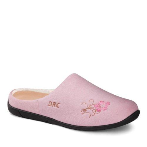 Dr. Confortables Pantoufles Thérapeutiques Confortables Femmes Rose
