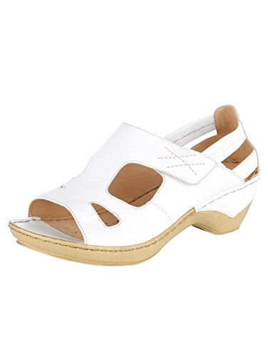 Gril Vrouwen Sandalette Wit