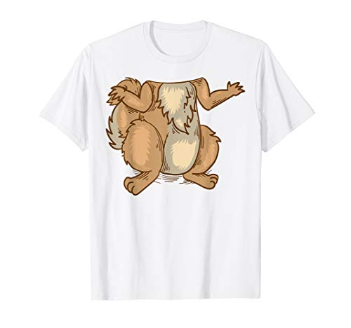 (Cool Lazy Chipmunk Squirrel Halloween Costume Shirt)