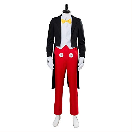 fanituhan ディズニー ミッキーマウス コスプレ 衣装 ミッキーマウス コスチューム 大人 ハロウィン イベント 仮装 セミオーダー
