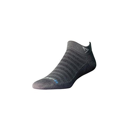 Mesh Mini Crew, Anthracite, W10-12 / M8.5-10.5 (Drymax Running Socks)