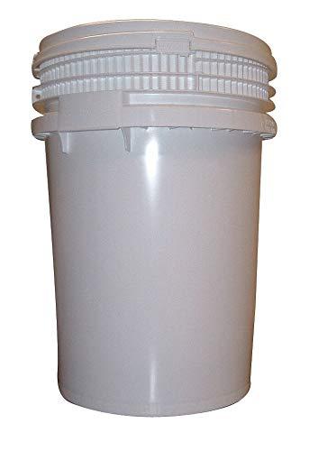 12.0 gal. High Density Polyethylene Round Pail, White