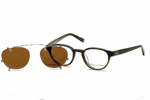 JOHN VARVATOS Monture lunettes de vue V353 Marron/Corne 48MM