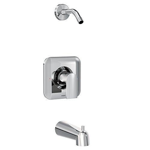 - Moen T2473NH, Genta Posi-Temp One-Handle Tub/Shower Trim Valve Without Showerhead, Chrome