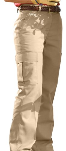 - Ed Garments Women's Blended Chino Cargo Pant, Tan, 8UL