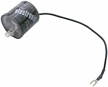 United Pacific LED Flasher with Reverse Polarity Base /& Extension Wires// 2 Terminal 90649