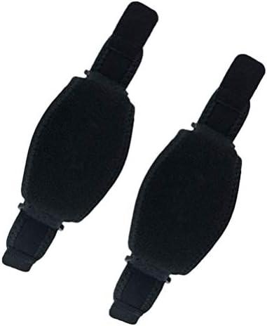 Healifty einstellbare Ellenbogenbandage Wrap Arm Unterstützung Band Sport Protector mit Kompressionspolster für Sportverletzungen Erholung Schmerzen verhindern 2St