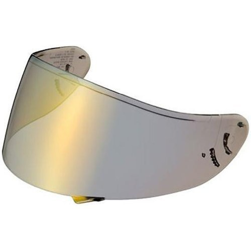 (Shoei Spectra Shield with Pinlock Pins CWR-1 Street Motorcycle Helmet Accessories - Gold - for RF-1200 by Shoei)