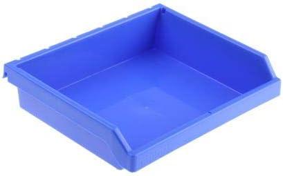 RS PRO 収納ボックス 高さ 47mm 幅 198mm 深さ 153mm PP 青 8個入 1857908