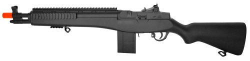 Velocity Airsoft Spring Powered M14 Sniper Rifle, 300-FPS Pinpoint Accuracy, Metal and ABS Plastic Construction M14 Metal