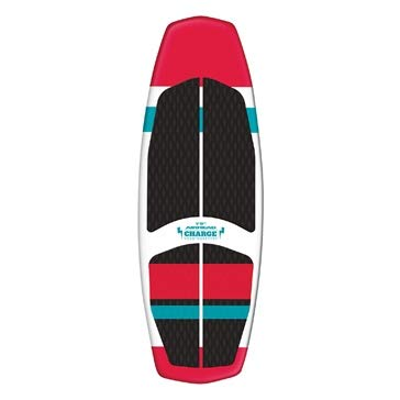 Airhead Charge Wakesurf Board, 1 Person, Red/Black