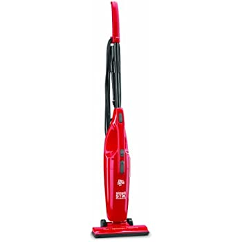Dirt Devil Vacuum Cleaner Simpli-Stik Lightweight Bagless Corded Stick and Handheld Vacuum SD20000RED