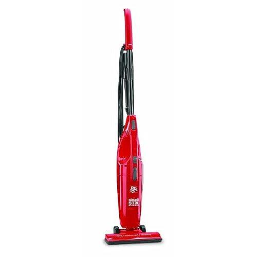 Dirt Devil Vacuum Cleaner Simpli Stik Lightweight Bagless Corded Stick And Handheld SD20000RED