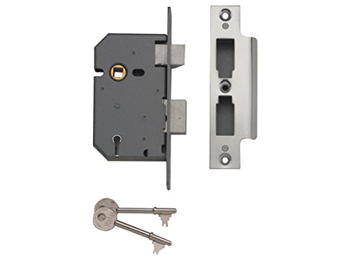 Yale Locks PM550 5 Lever Mortice Sash Lock 67mm 2.5in Polished Chrome
