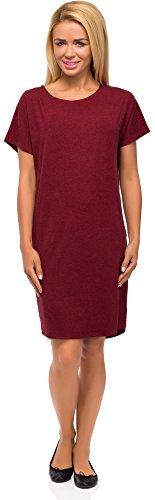 Merry Style Robe Vtement t Tunique Femme Modle 523 Vin Rouge