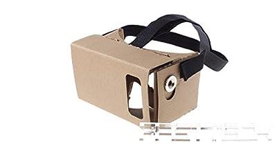 DIY Google Cardboard V2 3D VR Virtual Reality Glasses