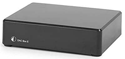 Pro-Ject DAC Box E Digital to Analog Converter (Black)