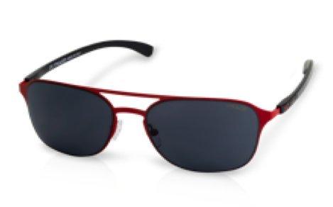 Mulco Illusion HM Red Frame / Black Lens 50 mm Sunglasses ...