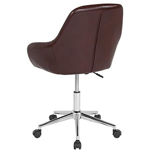 Pleasing Amazon Com Modern Retro Upholstered Swivel Seat Task Office Customarchery Wood Chair Design Ideas Customarcherynet