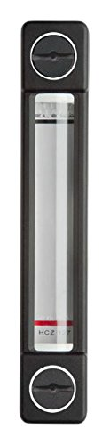 11.18 x 1.14 x 1.62 Stainless Steel Nuts and Washers Elesa 111399 Column Level Indicator Hcz//T-P-VT Model with Thermometer and Protection Frame