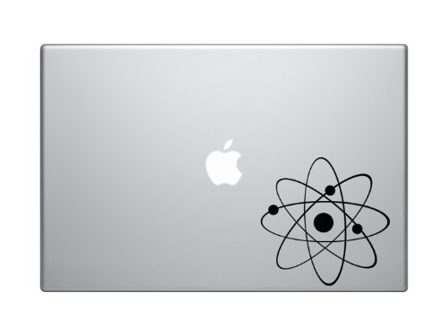 Science Icon #1 - Atom Proton Electron Nucleus Molecule Lab